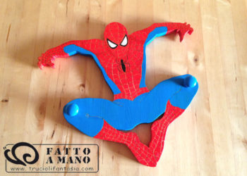 ATTACCAPANNI SPIDERMAN